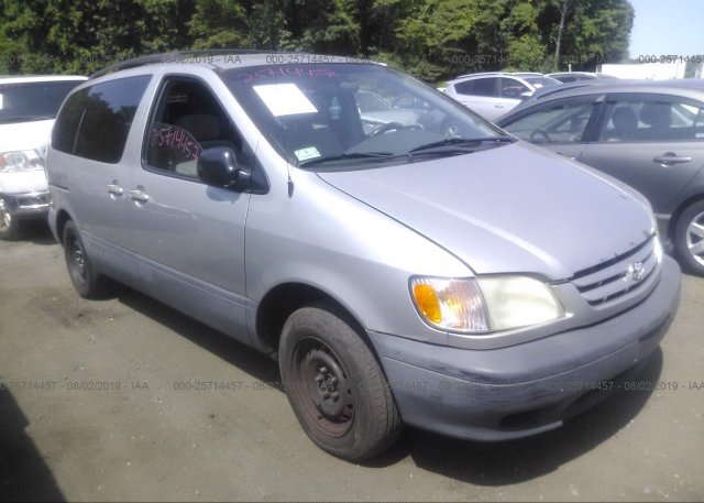 Inventory #226935972 2002 Toyota SIENNA