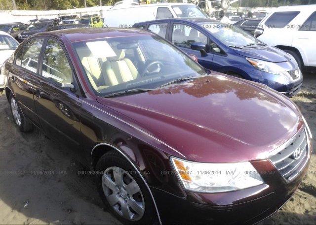 Inventory #965432316 2009 Hyundai SONATA