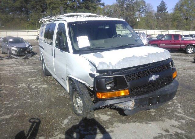 Inventory #770153823 2004 Chevrolet EXPRESS G2500