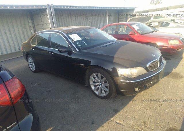 Inventory #671555796 2007 BMW 750