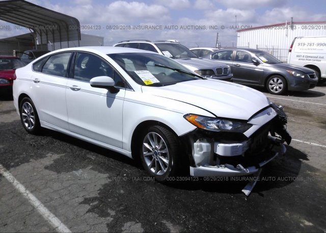 Inventory #127611613 2017 FORD FUSION