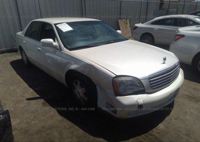 Inventory #715066246 2003 Cadillac DEVILLE