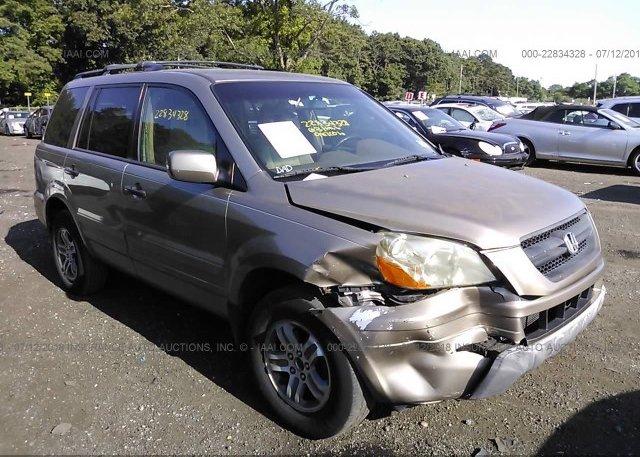 Inventory #287345241 2003 Honda PILOT