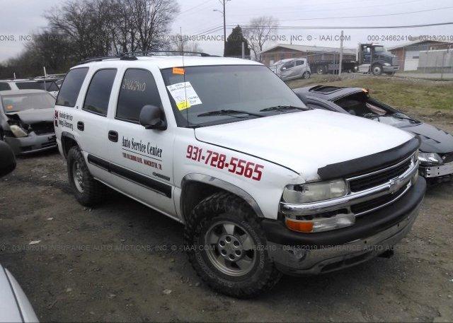 Inventory #572512514 2001 Chevrolet TAHOE