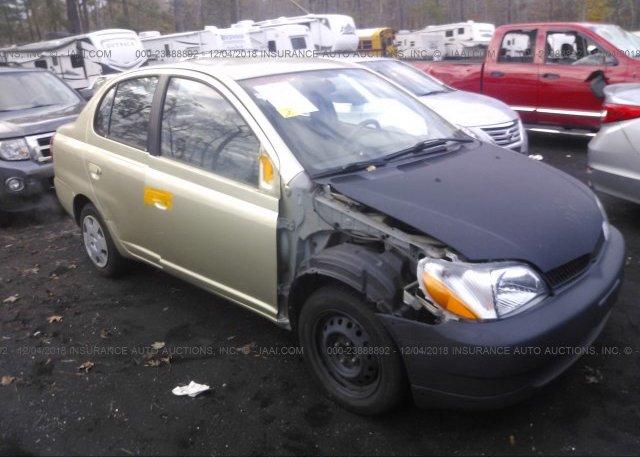 Jtdbt123010175251 Salvage Gold Toyota Echo At Suffolk Va On Online