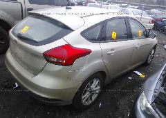 2017 FORD FOCUS - 1FADP3K26HL305970 rear view