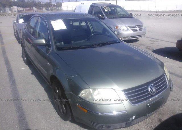 Inventory #980564509 2002 Volkswagen PASSAT