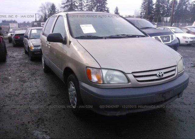 Inventory #907727735 2002 Toyota SIENNA