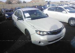 2008 Subaru IMPREZA - JF1GE61608H519042 Left View