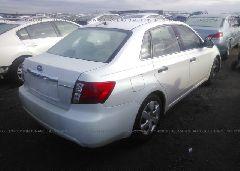 2008 Subaru IMPREZA - JF1GE61608H519042 rear view