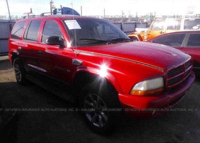 Inventory #701171091 2001 Dodge DURANGO