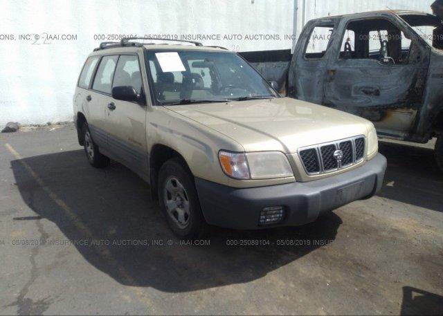 Inventory #651699286 2002 Subaru FORESTER