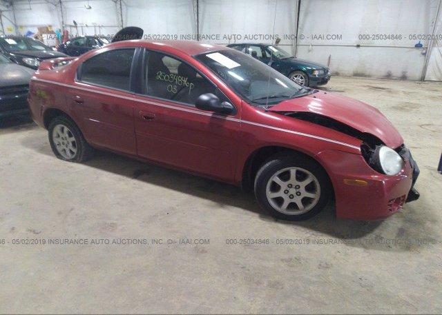 Inventory #710811509 2003 Dodge NEON