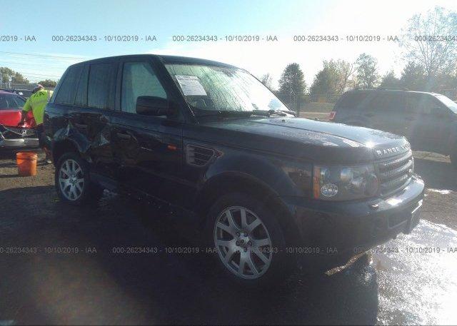 Inventory #797078123 2008 Land Rover RANGE ROVER SPORT