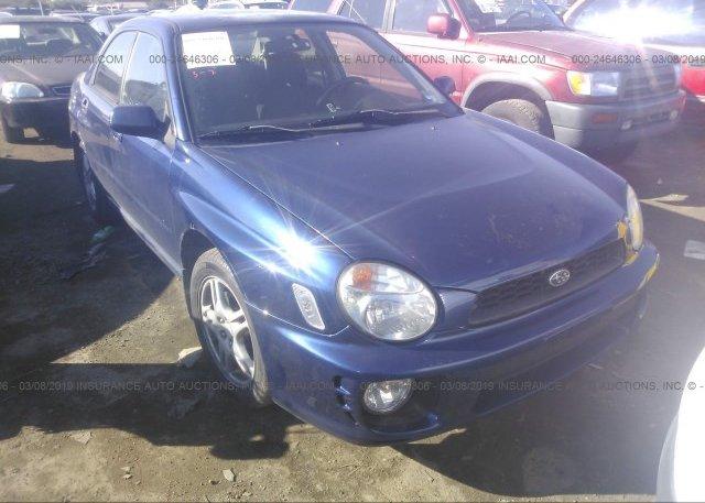 Inventory #101598699 2002 Subaru IMPREZA