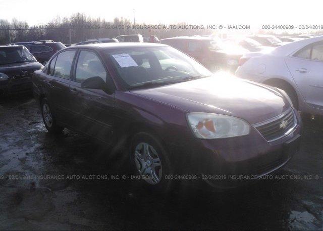 Inventory #506029970 2007 Chevrolet MALIBU