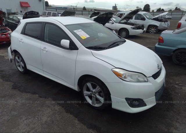 Inventory #325698880 2010 Toyota COROLLA MATRIX