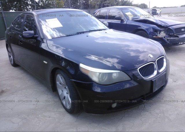 Inventory #653970215 2006 BMW 530