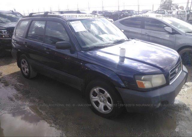 Inventory #443538619 2005 Subaru FORESTER