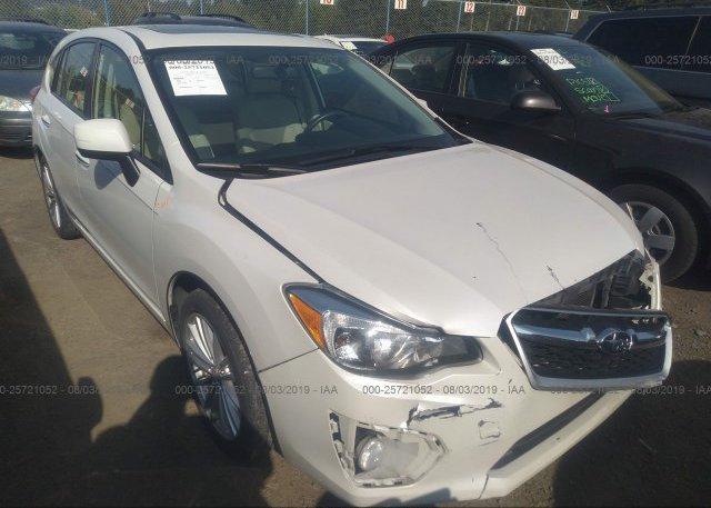 Inventory #682617141 2012 Subaru IMPREZA