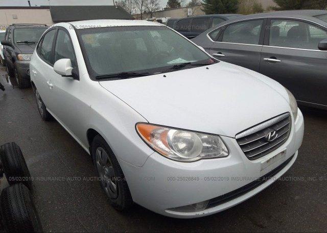 Inventory #489926110 2007 Hyundai ELANTRA