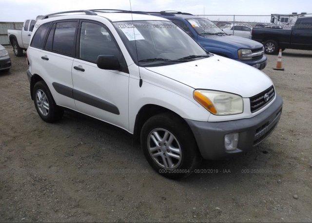 Inventory #369168873 2002 Toyota RAV4