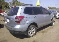2014 Subaru FORESTER - JF2SJADC1EH550267 rear view