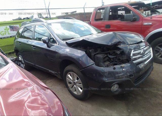 Inventory #636296140 2015 Subaru OUTBACK