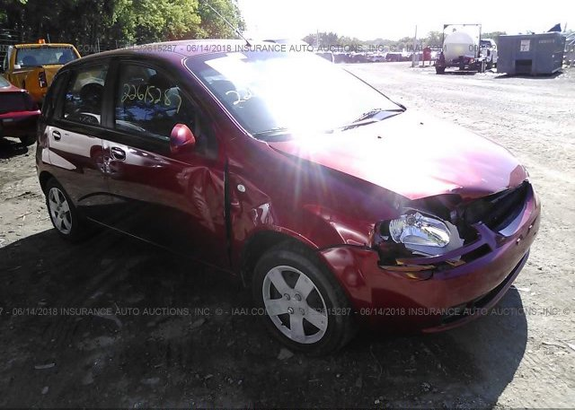 Inventory #806126080 2006 Chevrolet AVEO