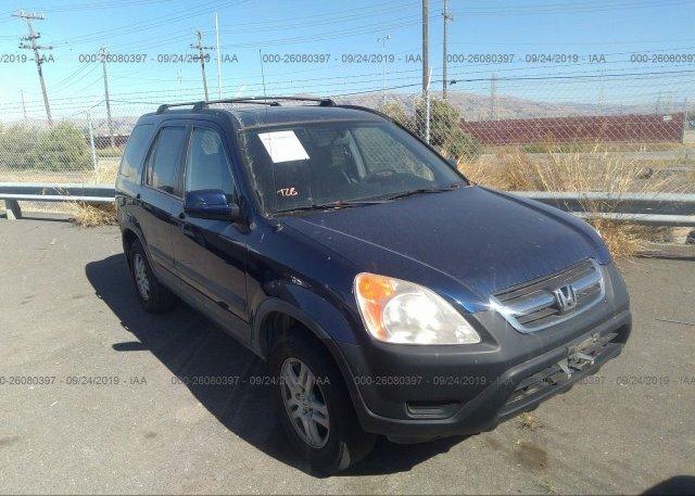 Inventory #740012747 2004 Honda CR-V