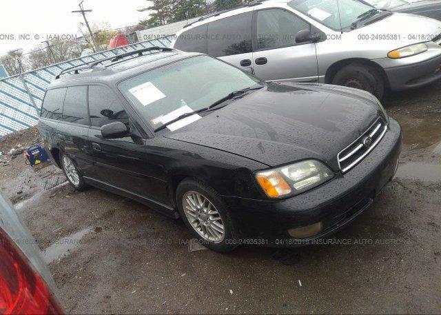 Inventory #188234605 2001 Subaru LEGACY