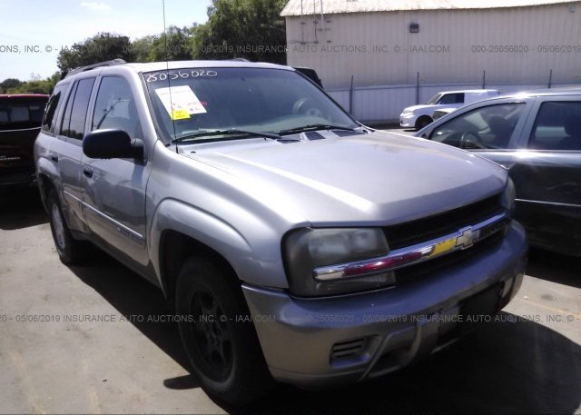 Inventory #221586282 2002 Chevrolet TRAILBLAZER