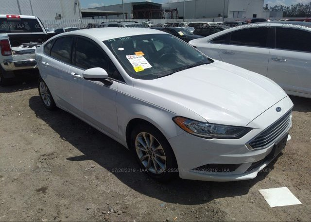 Inventory #757209880 2017 FORD FUSION