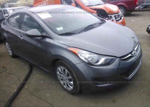 Inventory #831086279 2013 Hyundai ELANTRA