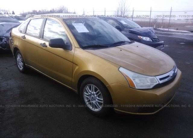 Inventory #863634838 2009 FORD FOCUS