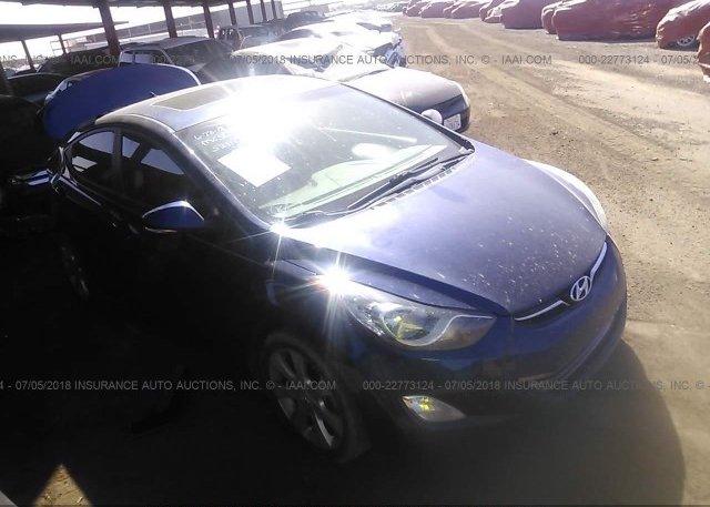 Inventory #320500025 2013 Hyundai ELANTRA