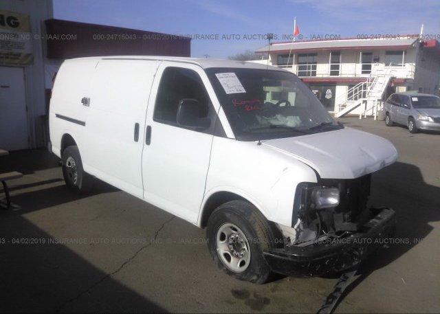 Inventory #528823909 2009 Chevrolet EXPRESS G2500