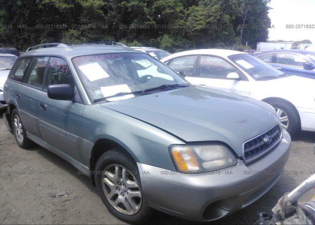 Inventory #953230979 2004 Subaru LEGACY