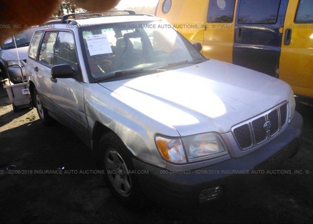 Inventory #103160258 2002 Subaru FORESTER