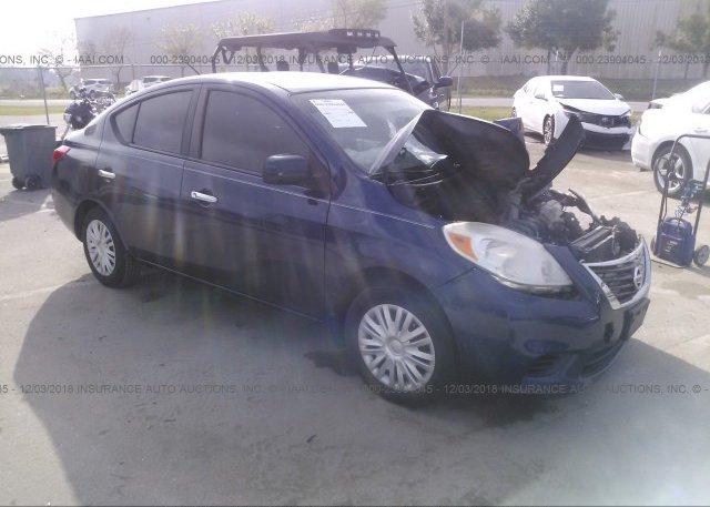 Inventory #624726471 2012 Nissan VERSA