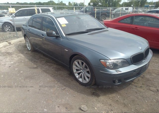 Inventory #934291465 2007 BMW 750