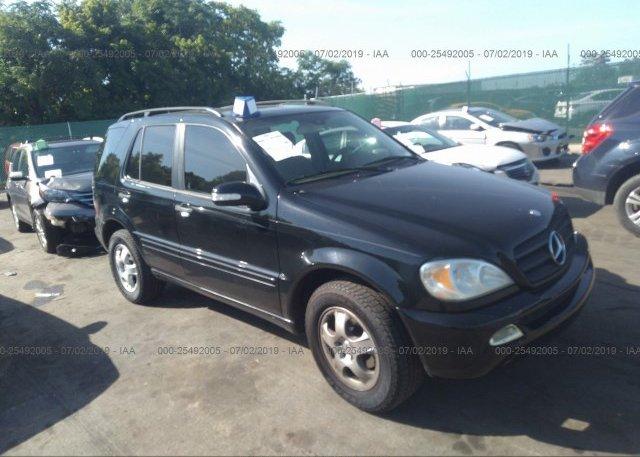 Inventory #994586343 2004 Mercedes-benz ML
