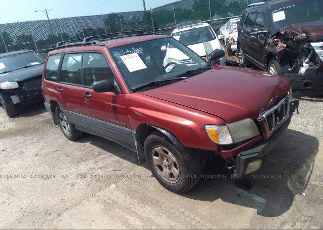 Inventory #184525929 2001 Subaru FORESTER