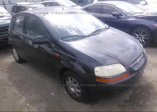 Inventory #276162402 2004 Chevrolet AVEO