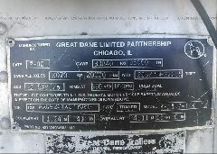 2000 GREAT DANE TRAILERS REEFER - 1GRAA0624YW077060 engine view