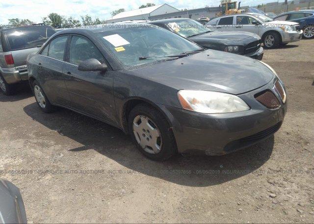 Inventory #572289863 2007 Pontiac G6