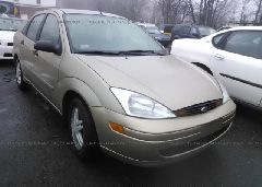 2001 FORD FOCUS - 1FAFP34P91W193073 Left View