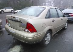 2001 FORD FOCUS - 1FAFP34P91W193073 rear view