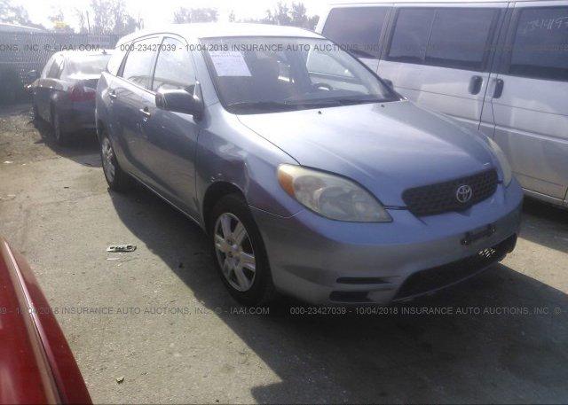 Inventory #705235435 2004 Toyota COROLLA MATRIX