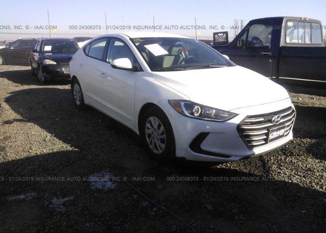 Inventory #159220406 2017 Hyundai ELANTRA